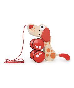 Walk-A-Long Puppy Toy   Hape Toys