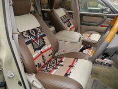 ランクル100 ペンドルトンコラボシートカバー Toyota Landcruiser100 【flexdream】 and 【PENDLETON】…