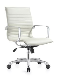 14 best white leather office chair images white leather office rh pinterest com