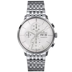 Men's Wrist Watches - Junghans Meister Chronoscope Chronograph Automatic 027412144 *** Click on the image for additional details.
