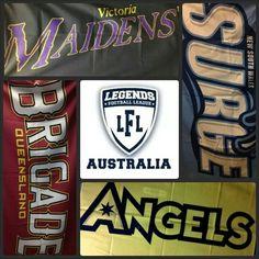 2013-14 Inaugural Legends Football League Australia Teams