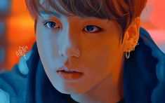 I'm back with (another) fanart of Kookie 😂💞 I just really love drawing him! This dra Kpop Drawings, Love Drawings, Taehyung Fanart, Jungkook Cute, Jimin, Bts And Exo, Bts Chibi, Bts Fans, Bts Video