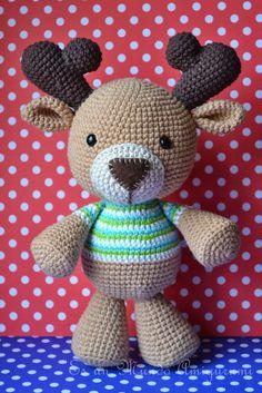 Es un Mundo Amigurumi: Reno presentado en sociedad. pattern not ready yet Diy Crochet Amigurumi, Crochet Deer, Crochet Animals, Crochet Dolls, Crochet Yarn, Crochet Toys Patterns, Amigurumi Patterns, Stuffed Toys Patterns, Art Japonais