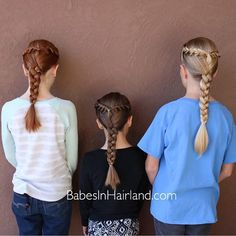 The holidays always mean lots of family time ... which we love! Bee and my 2 nieces decided they wanted matching hair, but something that was quick and easy so they had plenty of time to play! So sad the holidays are over! . . #babesinhairlandblog #babesinhairland #braids #matchymatchy #hair #ginger #longhair #family #hairstyle #hair #Regram via @babesinhairlandblog