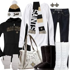 New Orleans Saints Winter Fashion