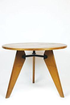 Jean Prouvé, table guéridon, 1947