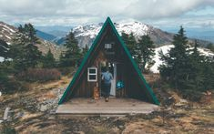 Style and Create - Mountain top cabin Adventure Awaits, Adventure Travel, Glamping, Tiny House, Cabins In The Woods, Landscape Photos, The Great Outdoors, Wonders Of The World, Places To See
