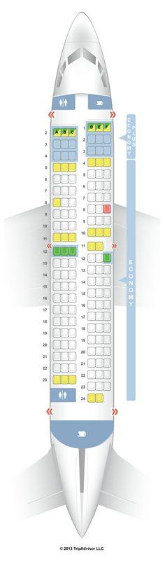 SeatGuru Seat Map WestJet Boeing 737-700 (737)