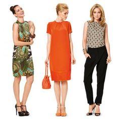Schnitt - 6914 - Kleid – Top – Fältchen am Ausschnitt SCHNITTE  Schnittmuster burda Kleider
