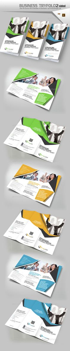 Corporate Three Fold Brochure