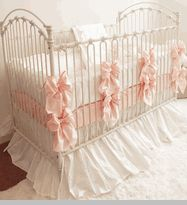 emily cotton crib bedding
