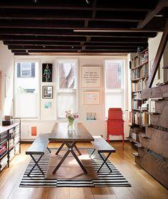 architect Anne Tyng's Philadelphia home