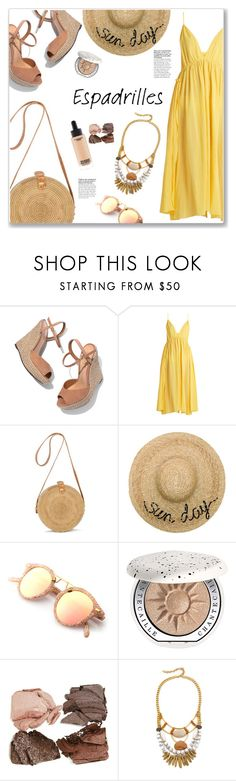 """Step into Summer: Espadrilles"" by christinacastro830 on Polyvore featuring Schutz, Loup Charmant, Eugenia Kim, Chantecaille, David Aubrey and espadrilles"