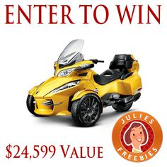 Win a Can-Am Spyder ST