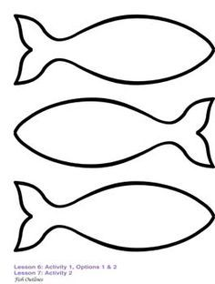1000+ Ideas About Fish Template On Pinterest Tissue Paper, Felt ...