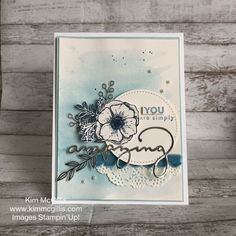Amazing You, Celebrate You! SAB 2018, Stampin Up, Watercolor