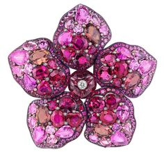 Mulan brooch from Disney and Chopard's Disney princess collection. Via Diamonds in the Library.