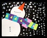 Perspective of a Snowman Looking up:  Grade 2