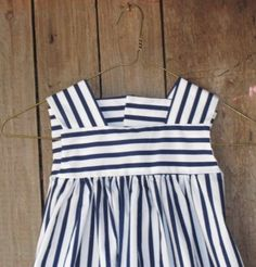 Crisp Nautical Stripes for Spring and Summer by ThePeaGreenBoat
