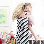 At home with Busy Philipps and Birdie