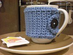 Soozie's Cutie Patooties: Crochet Mug Cozy Pattern by Tutus & Tea Parties