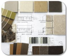 Materials Concept Board