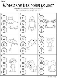 Phonics - Letter Sounds, Rhyming, CVC Words, Digraphs & More! Phonics Reading, Teaching Phonics, Phonics Worksheets, Preschool Learning Activities, Kindergarten Reading, Kindergarten Worksheets, Reading Comprehension, Learning English For Kids, English Worksheets For Kids