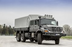 Mercedes-Benz Zetros 2733 A Crew Cab Pritschenwagen Mercedes G Wagon, Mercedes Benz Trucks, Pick Up, 6x6 Truck, Coach Travel, Bug Out Vehicle, Army Vehicles, Expedition Vehicle, Big Trucks
