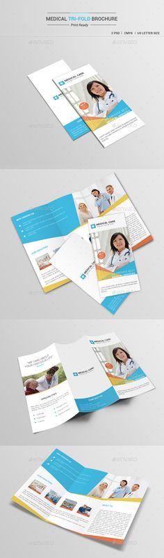 Medical Tri-Fold Brochure Template #printdesign #brochure Download: http://graphicriver.net/item/medical-trifold-brochure-v1/12064721?ref=ksioks