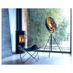 ΦΩΤΙΣΤΙΚΑ ΔΑΠΕΔΟΥ Old Chairs, Eames Chairs, High Chairs, Fortuny Lamp, Practical Magic House, Outdoor Lounge Chair Cushions, Led Floor Lamp, Bronze, Accent Chairs For Living Room