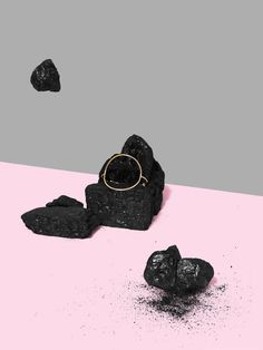 Editorial | Jewellery & Watches | Shoot Me | #jewellery #rocks #pink #grey