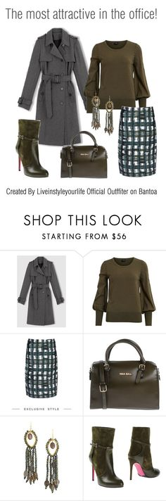 Perfette in Ufficio...Eyes on me!  ;-) by liveinstyleyourlife on Polyvore featuring moda, Vila Milano, Marni, Luciano Padovan, Mia Bag and Taolei