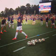 USA Women's National Team @NC ! #Soccer #USWNT #Football #USA