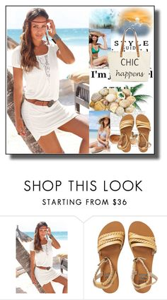"""""""set 149"""" by fahirade ❤ liked on Polyvore featuring Venus, TOUS, J.Crew, Billabong and Straw Studios"""