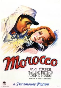 """""""Marocco"""" - Josef von Sternberg"""