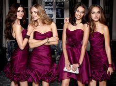Wish your bridesmaids look like this?? Jim Hjelm 2012 Bridesmaids/Special Occasion dresses are making a statement this season!