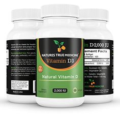 Vitamin D3 2000IU, 100% Pure, Premium Quality. The number 1 Best Vitamin D supplement available online today. Liquid softgel Vitamin D 2000 capsules. 100% natural ingredients, no artificial colours, no magnesium stearate or other cheap and harmful fillers. Quality tested in a GMP Lab, made in the USA. GMO Free. Nobody beats us on quality and safety requirements. No other Vitamin D3 2000 IU supplement quite measures up. You Risk Nothing. 100% money back guarantee.