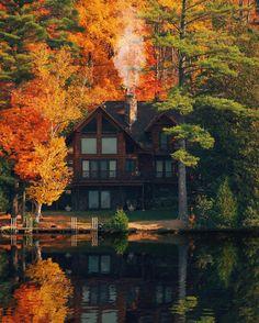 autumn.quenalbertini: Autumn scenery | The Little Hermitage