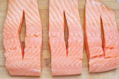 When thinking up new salmon recipes, we look for inspiration every where, even the local Costco. Growing up, my parents would buy it on rare occasions,… Crab Stuffed Salmon, Baked Salmon Recipes, Fish Recipes, Seafood Recipes, Stuffed Fish, No Carb Recipes, Wrap Recipes, Beef Recipes, Bon Appetit