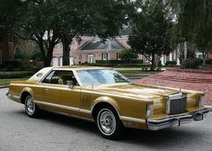 1977 Lincoln Continental Mark V. My father in law had one & called it the ''big easy''...that cracks me up!!!