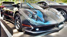 Monaco supercar 2016 Ep. 12 - ZONDA F, 1200hp 9FF Gemballa, F40, Aventad...