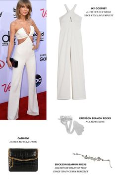 Taylor Swift knows how to create chart-topping albums. With the outfit she wore to the BMAs she proved she also knows how to kill it on the red carpet. Get this look for yourself with selections from our stylists. #Zindigo #TaySwift #getthelook