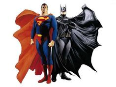 batman and superman aka big and little taking over the world