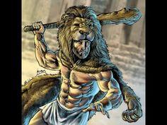 Hercules (Heracles, Herakles) with Lion Cloak. Hercules Mythology, Greek Mythology Art, 12 Labors Of Hercules, Hercules Son, Hercules Tattoo, Nemean Lion, Mythology Tattoos, Roman Gods, Greek Gods And Goddesses