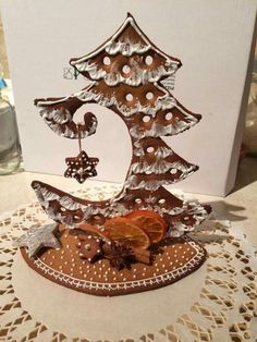 New Snap Shots Dollar Store DIY Christmas Decor Ideas – Gingerbread Decorations Thoughts hristmas is the absolute most liked of holidays when everybody receives something, therefore we hav Christmas Desserts, Christmas Treats, Christmas Baking, Christmas Fun, Christmas Cookies, Xmas, Gingerbread Decorations, Christmas Gingerbread, Gingerbread Cookies