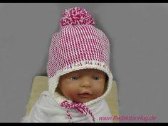 Tunesisch Häkeln - Mütze für Baby - Babymütze von hatnut 133 Teil 1 - Veronika Hug - YouTube