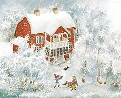 snowy weather in sweden