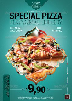 Do you need pizza flyer templates? Here is the best collection of pizza restaurant flyer PSD templates that you can utilize to sell the food products. Pizza Flyer, Menu Flyer, Restaurant Flyer, Pizza Restaurant, Psd Templates, Flyer Template, Pizza Poster, Brochure Food, Food Branding