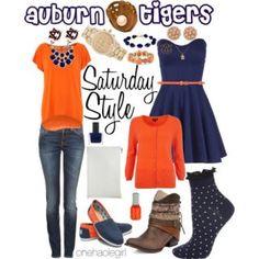 Saturday Style Baseball Edition: Auburn Tigers & Brock University Badgers