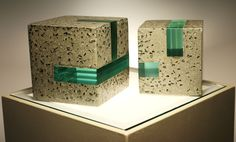 concrete polished with glass - Buscar con Google